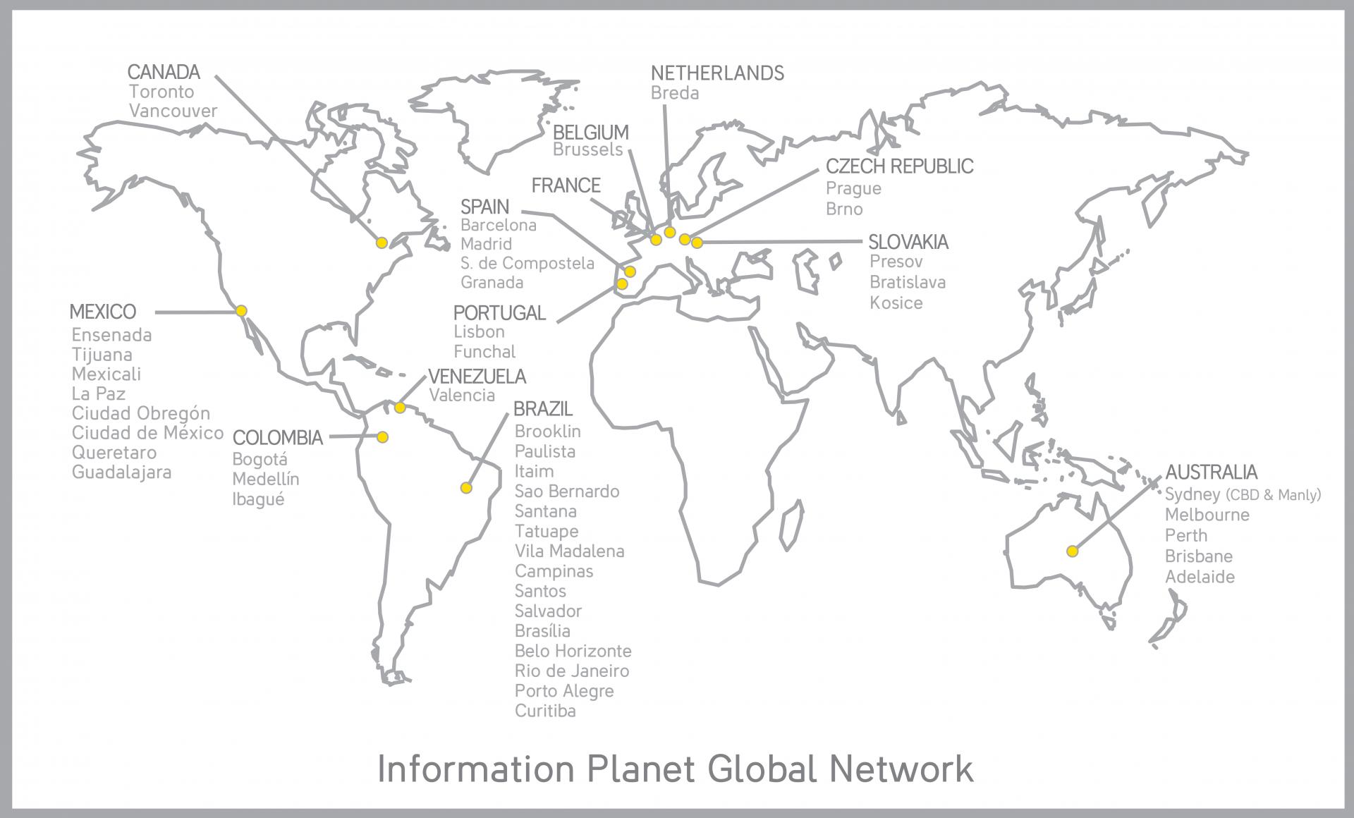kanceláře IP ve světě