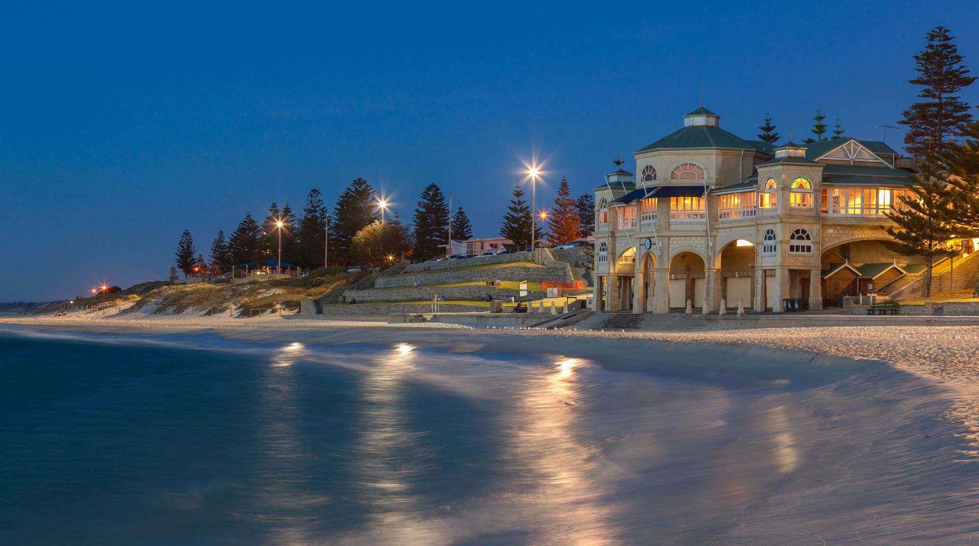 Pohled na moře v Perthu
